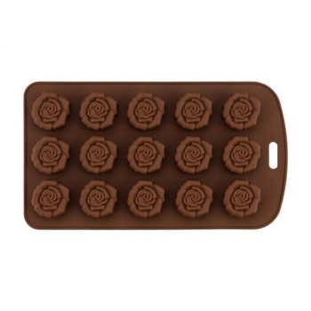 قالب شکلات طرح گل رز