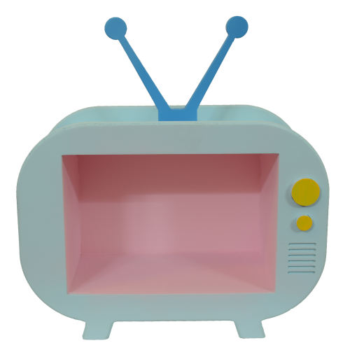 شلف رومیزی طرح تلویزیون