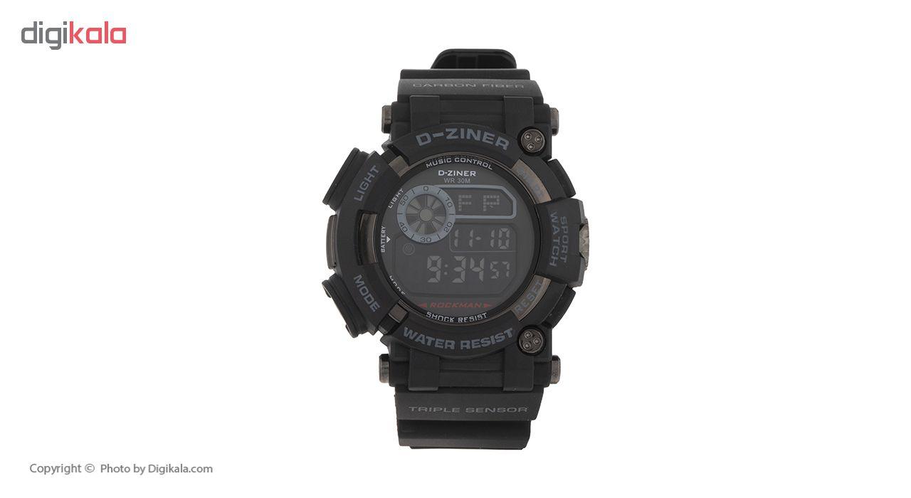 ساعت مچی عقربه ای مردانه دیزاینر مدل N31