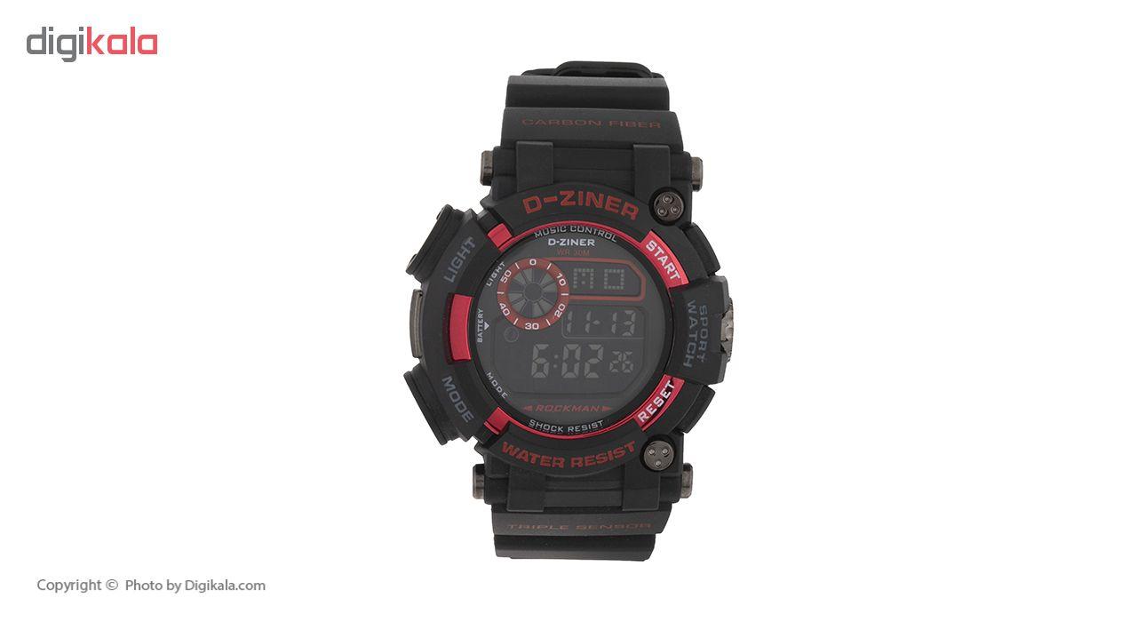 ساعت مچی عقربه ای مردانه دیزاینر مدل N19
