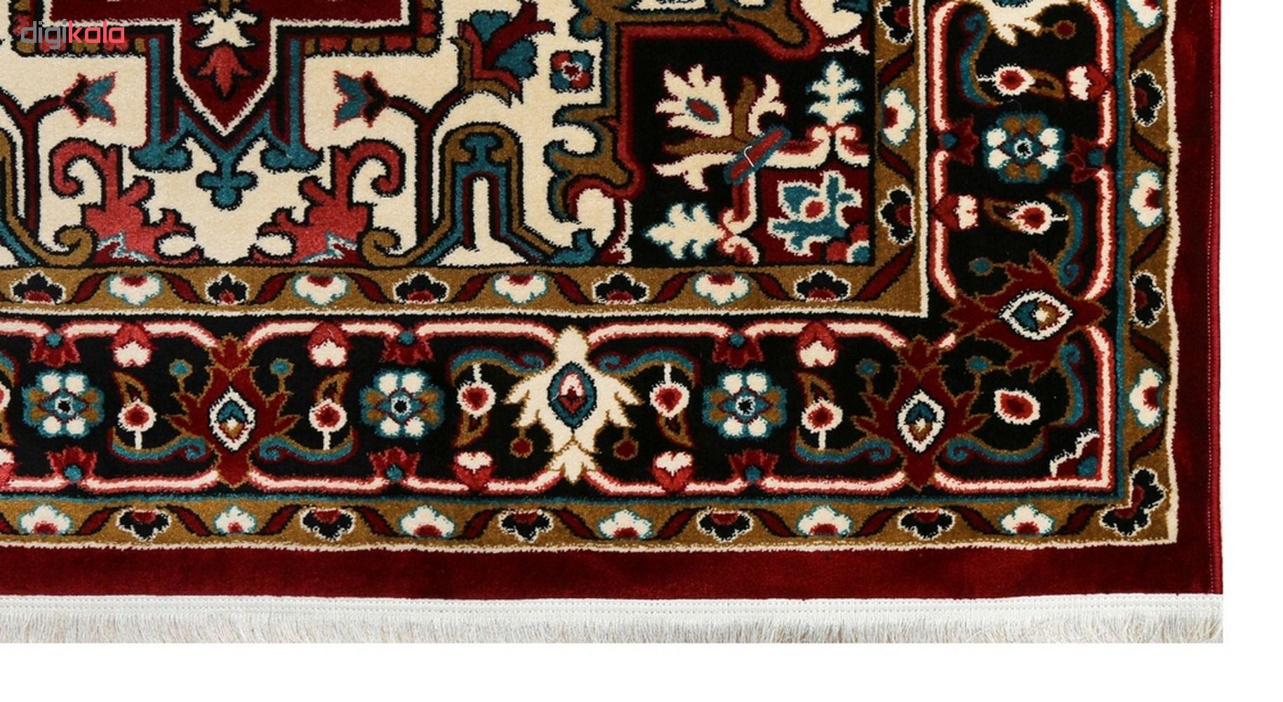 فرش  ماشینی دنیای فرش طرح هریس کد 12