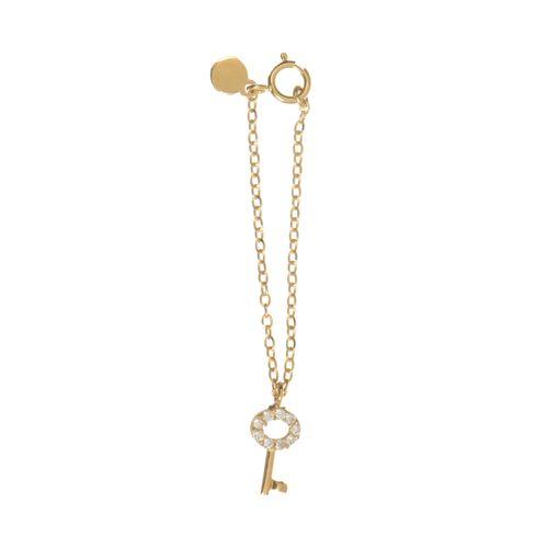 آویز ساعت طلا 18 عیار زنانه میو استار مدل WTC170