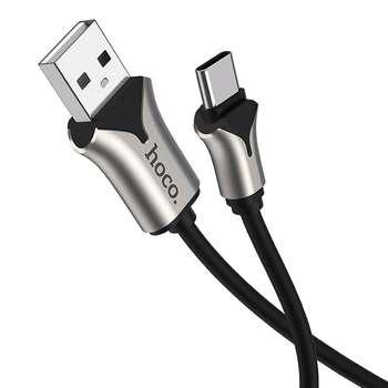کابل تبدیل USB به USB-C هوکو مدل U67-3A طول 1.2 متر