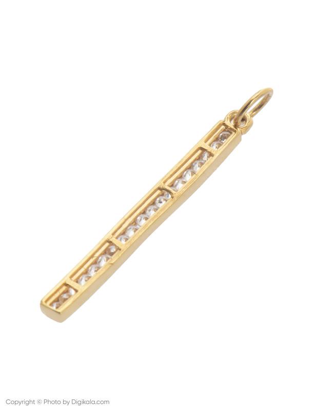 آویز گردنبند طلا 18 عیار زنانه میو استار مدل N182