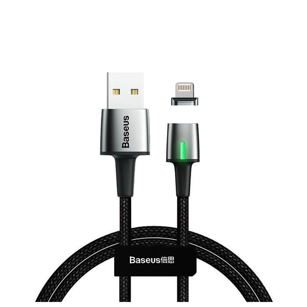 کابل تبدیل USB به لایتنینگ باسئوس مدل Zinc طول 1 متر