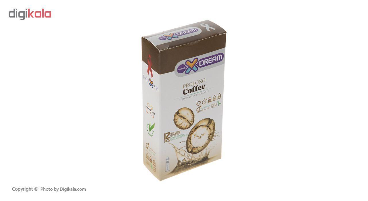 کاندوم ایکس دریم مدل Coffee بسته 12 عددی main 1 2