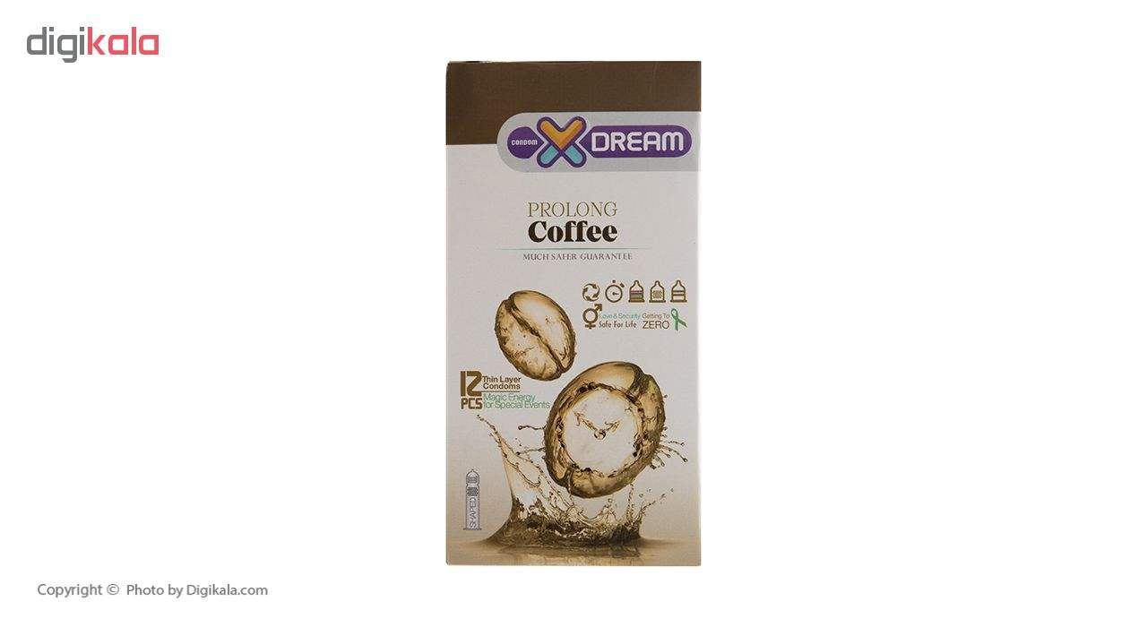 کاندوم ایکس دریم مدل Coffee بسته 12 عددی main 1 1