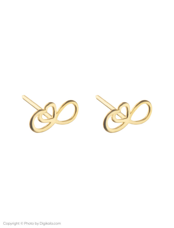 گوشواره طلا 18 عیار زنانه میو استار مدل EG174