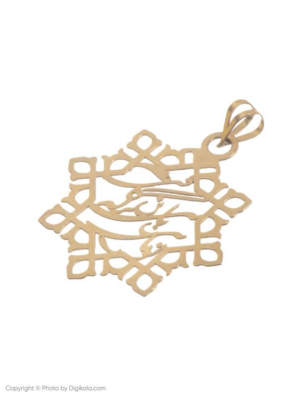 آویز گردنبند طلا 18 عیار زنانه میو استار مدل N169