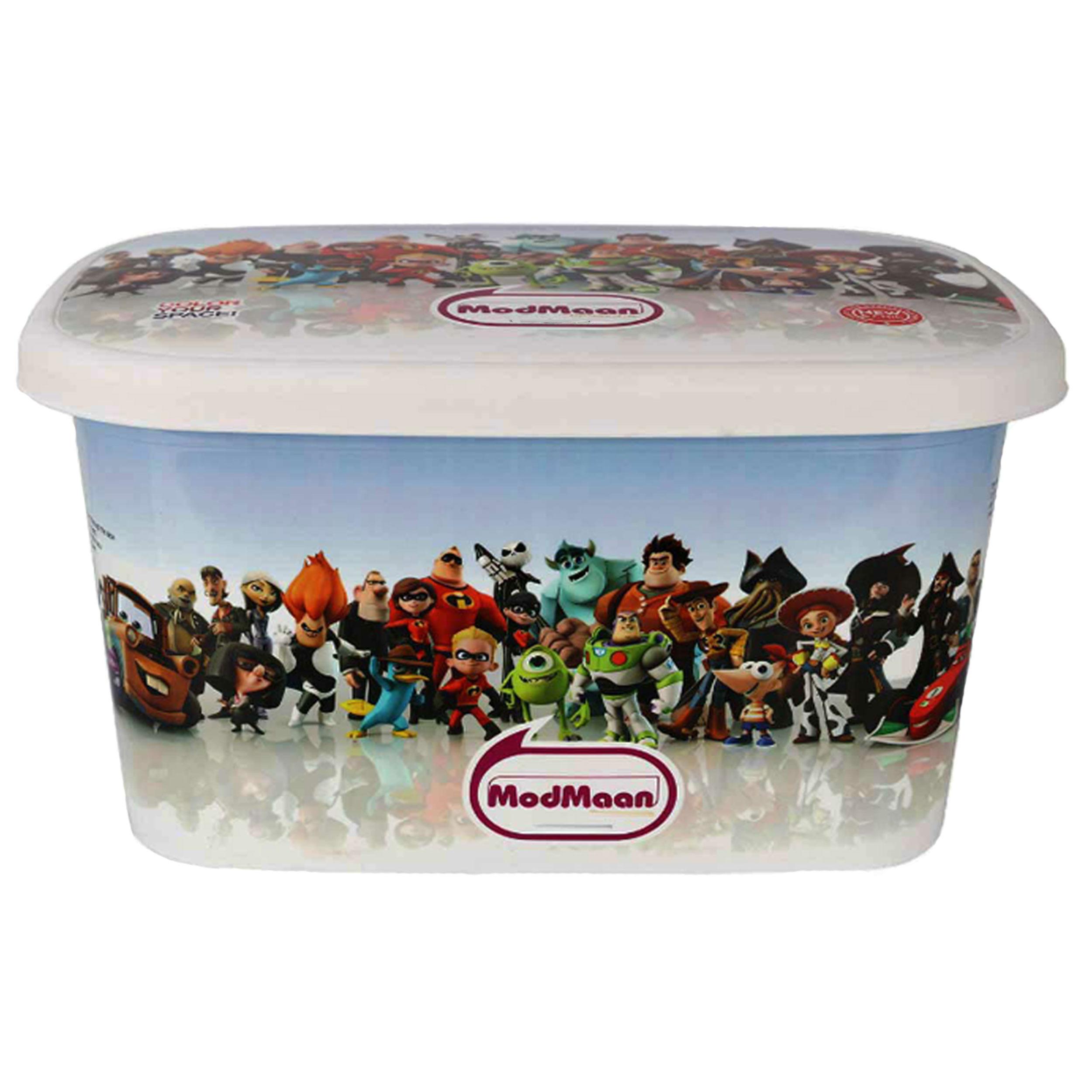 جعبه اسباب بازی کودک مدمان مدل cartoon 3