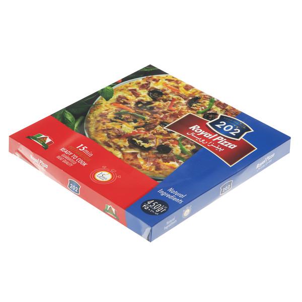 پیتزا رویال 202 وزن 450 گرم