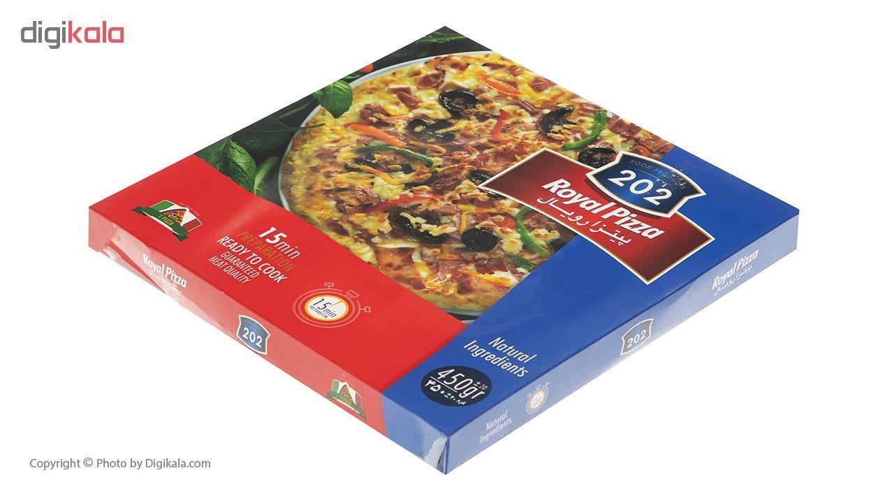 پیتزا رویال 202 وزن 450 گرم main 1 1
