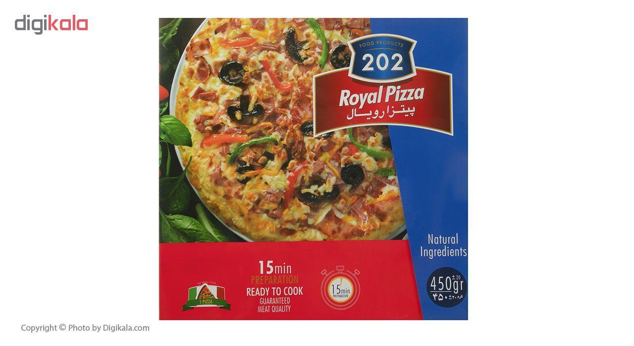 پیتزا رویال 202 وزن 450 گرم main 1 2