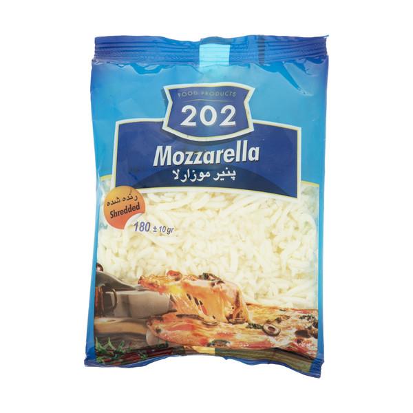 پنیر پیتزا موزارلا 202 وزن 180 گرم