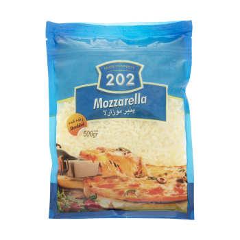 پنیر پیتزا موزارلا 202 وزن 500 گرم
