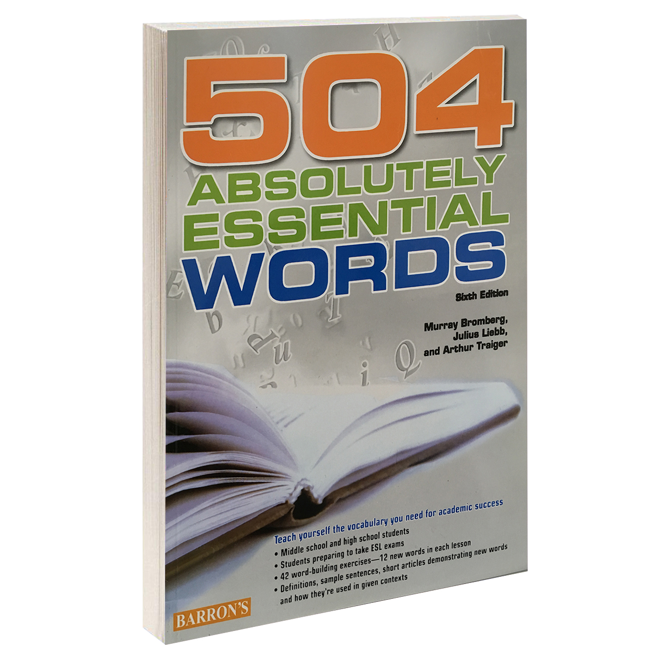 خرید                      کتاب 504 Absolutely Essential Words اثر Murray Bromberg انتشارات Oxford
