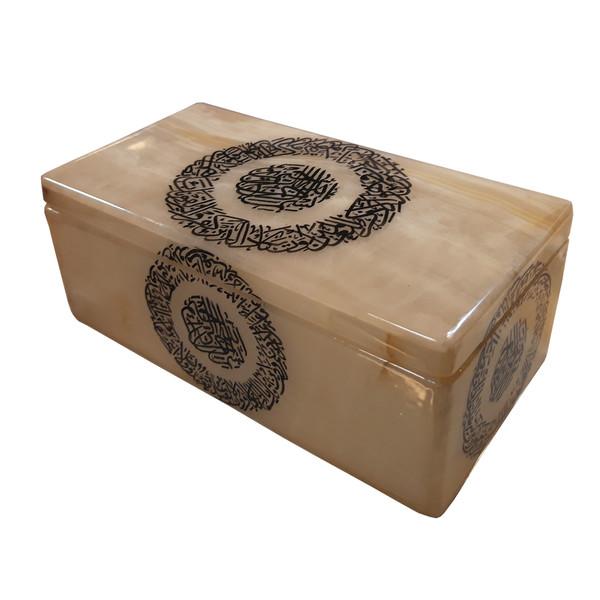 جعبه سنگ مرمر طرح وان یکاد کد 158