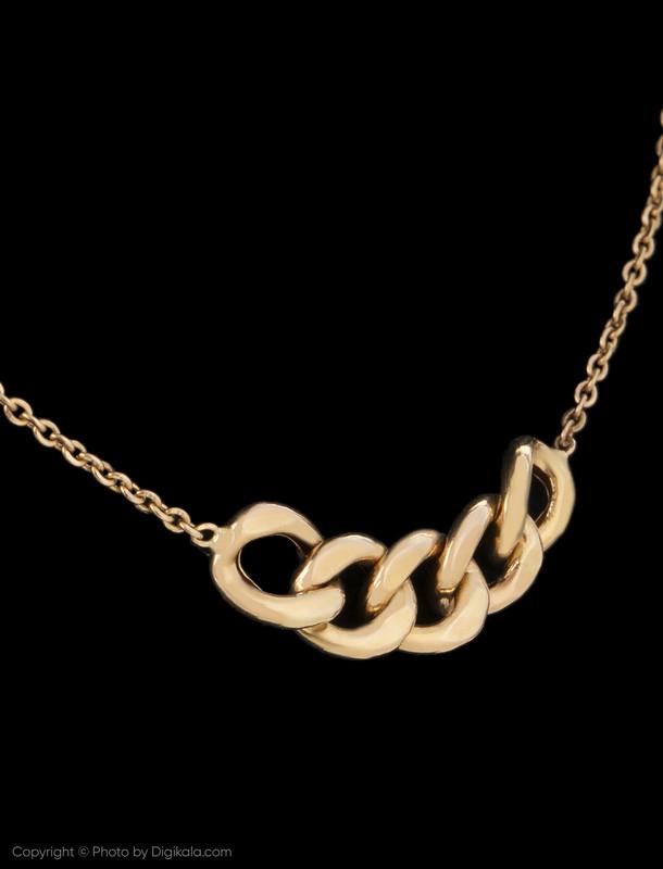 گردنبند طلا 18 عیار زنانه میو استار مدل NC131