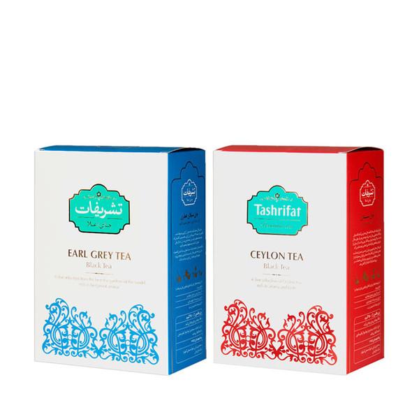 چای ارل گری تشریفات مقدار 450 گرم به همراه چای سیلان