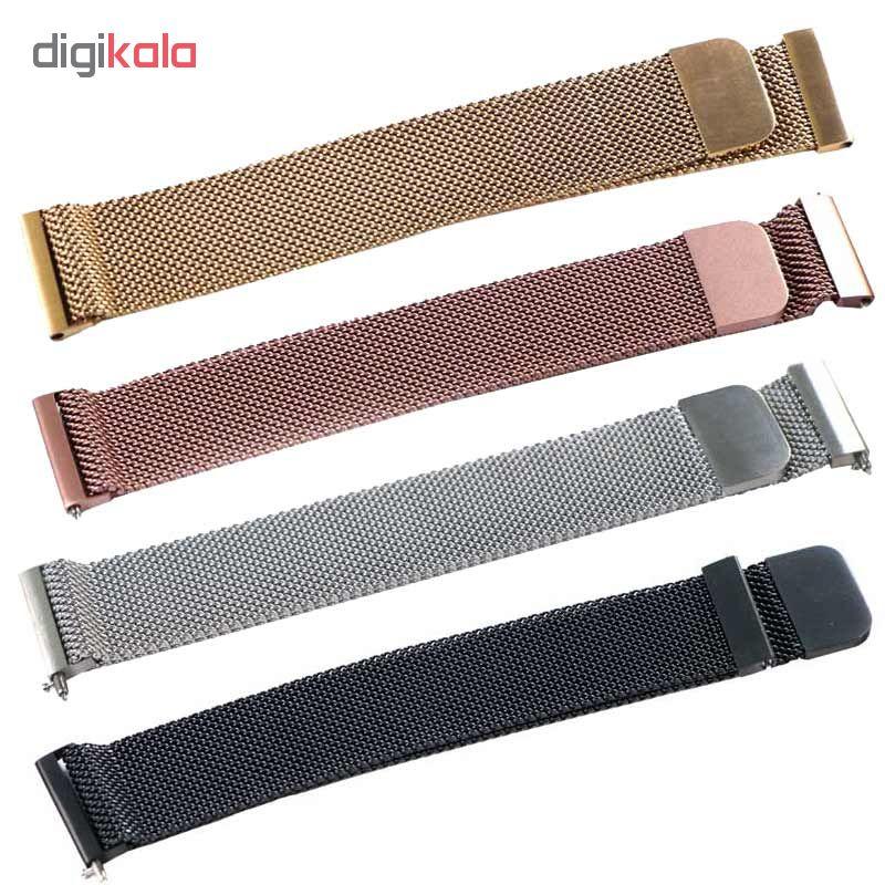 بند مدل Milanese مناسب برای ساعت هوشمند سامسونگ Gear S4 SM-R810 42mm main 1 2