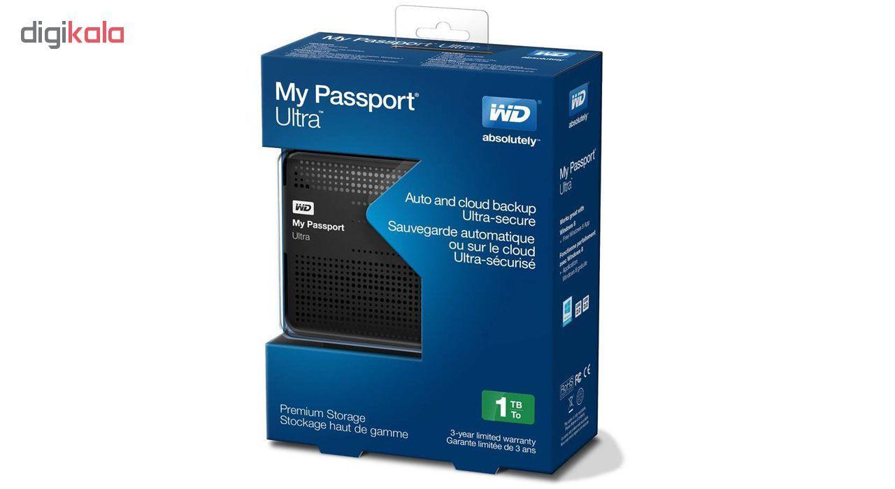 باکس تبدیل Sata و هارد USB 3.0 وسترن دیجیتال مدل My Passport Ultra main 1 2