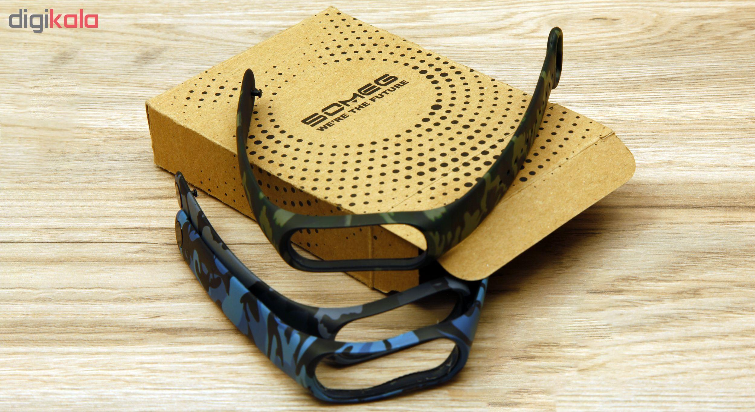 بند سومگ مدل SMG-AP1 مناسب برای مچ بند هوشمند شیائومی Mi Band 4  بسته 3 عددی main 1 16