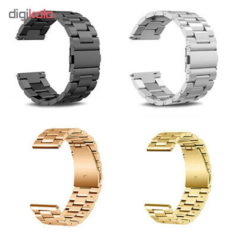 بند مدل 3Beads مناسب برای ساعت هوشمند سامسونگ Gear S4 SM-R810 46mm main 1 1