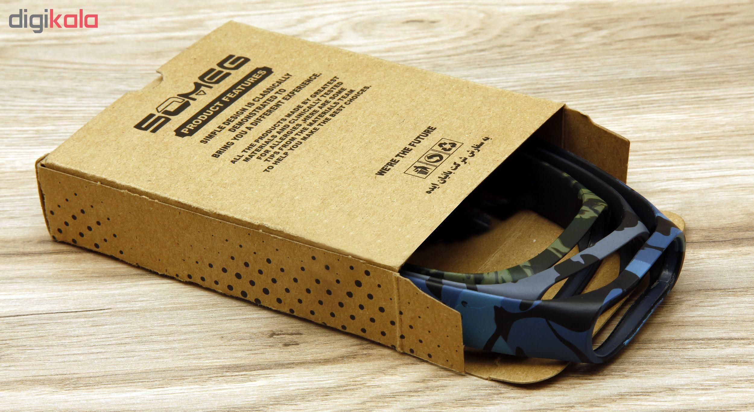 بند سومگ مدل SMG-AP1 مناسب برای مچ بند هوشمند شیائومی Mi Band 4  بسته 3 عددی main 1 17