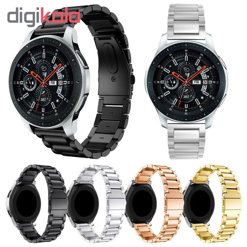 بند مدل 3Beads مناسب برای ساعت هوشمند سامسونگ Gear S4 SM-R810 46mm main 1 2
