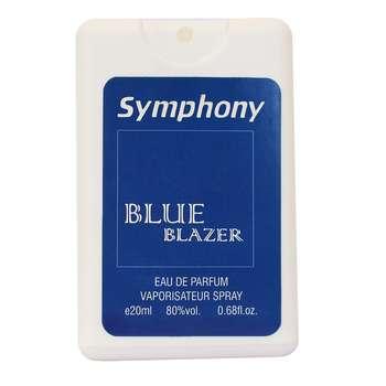 عطر جیبی مردانه سیمفونی مدل بلو بلیزر حجم 20 میلی لیتر