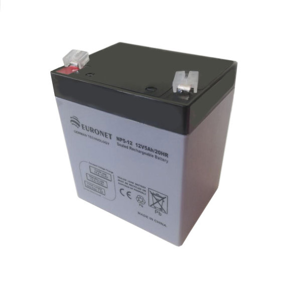 باتری یو پی اس 12 ولت 5 آمپر ساعت یورونت مدل NP5-12