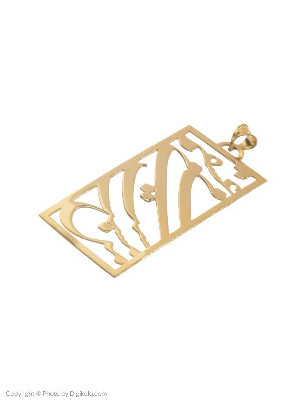 آویز گردنبند طلا 18 عیار زنانه میو استار مدل N171