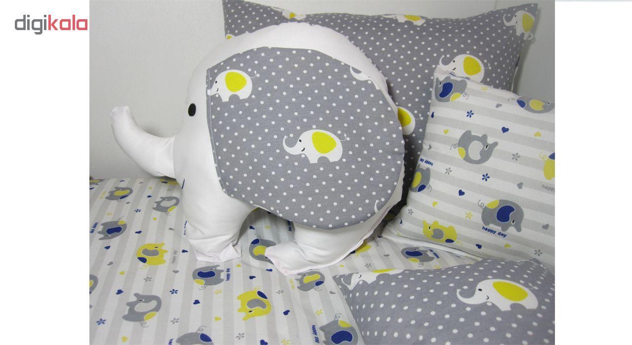 سرویس خواب 8 تکه کودک مدل Cute Elephant main 1 3
