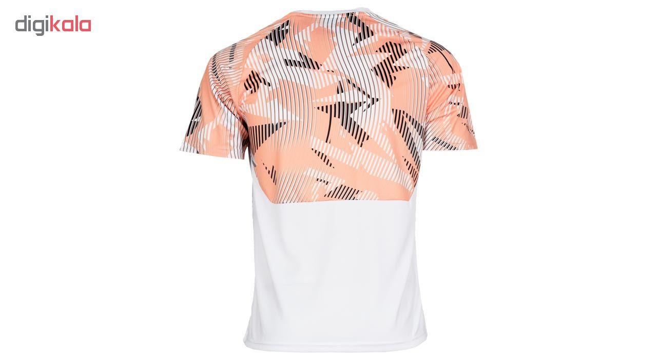 تیشرت ورزشی مردانه طرح والنسیا کد 2019.20 رنگ سفید