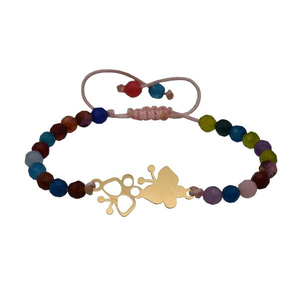 دستبند نقره زنانه کد 310s7