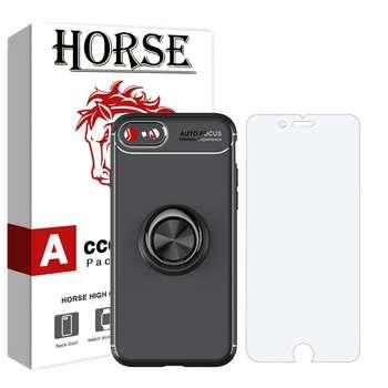 کاور هورس مدل CRH مناسب برای گوشی موبایل اپل iPhone 6 / 6s به همراه محافظ صفحه نمایش