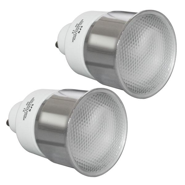 لامپ کم مصرف 9 وات اس پی ان کد 01 پایه  GU10 بسته 2 عددی
