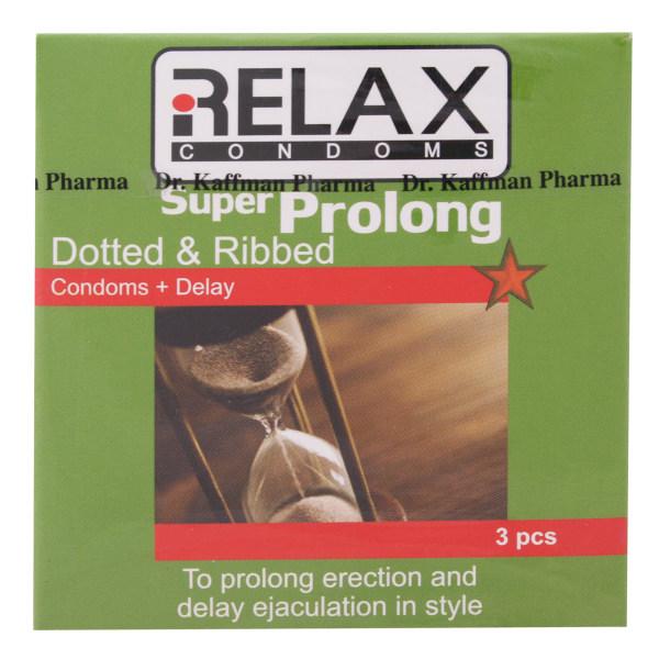 کاندوم ریلکس مدل Super Prolong بسته 3 عددی