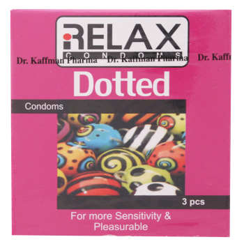 کاندوم ریلکس مدل Dotted بسته 3 عددی