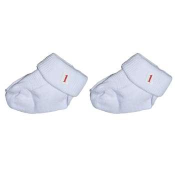 جوراب نوزاد کد sz11 بسته دو عددی
