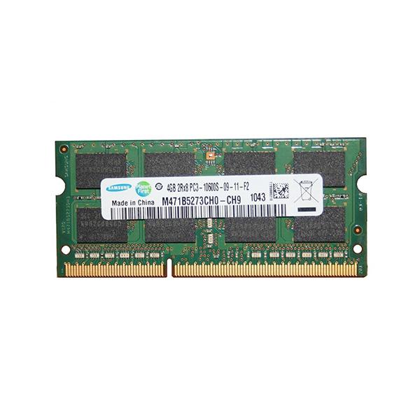 رم لپ تاپ DDR3 تک کاناله 1333 مگاهرتز 10600s سامسونگ مدل M471B5273CH0-CH9 ظرفیت 4 گیگابایت