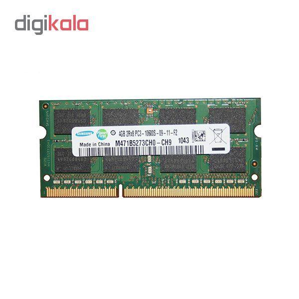رم لپ تاپ DDR3 تک کاناله 1333 مگاهرتز 10600s سامسونگ مدل M471B5273CH0-CH9 ظرفیت 4 گیگابایت main 1 1