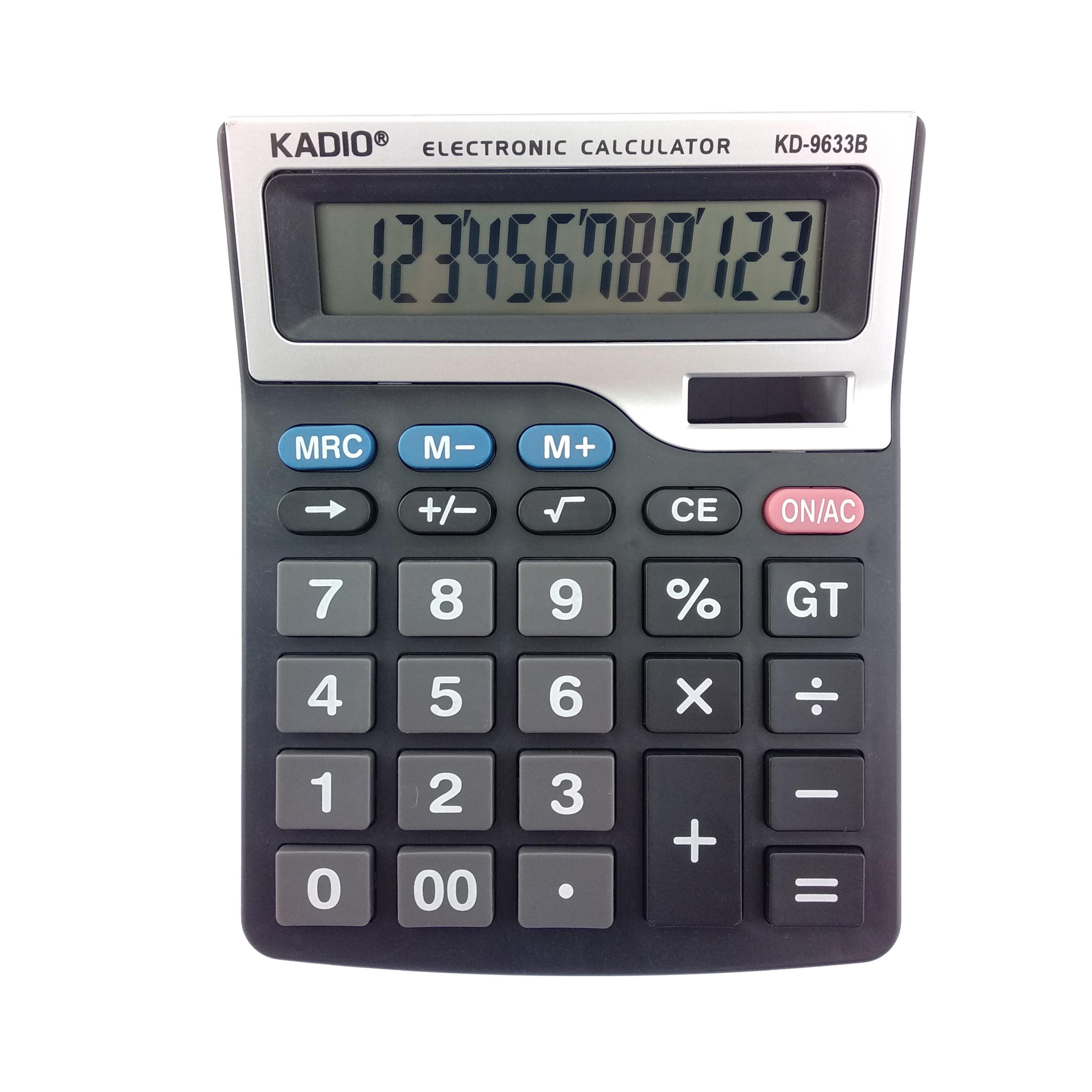 قیمت                      ماشین حساب کادیو مدل KD-9633B