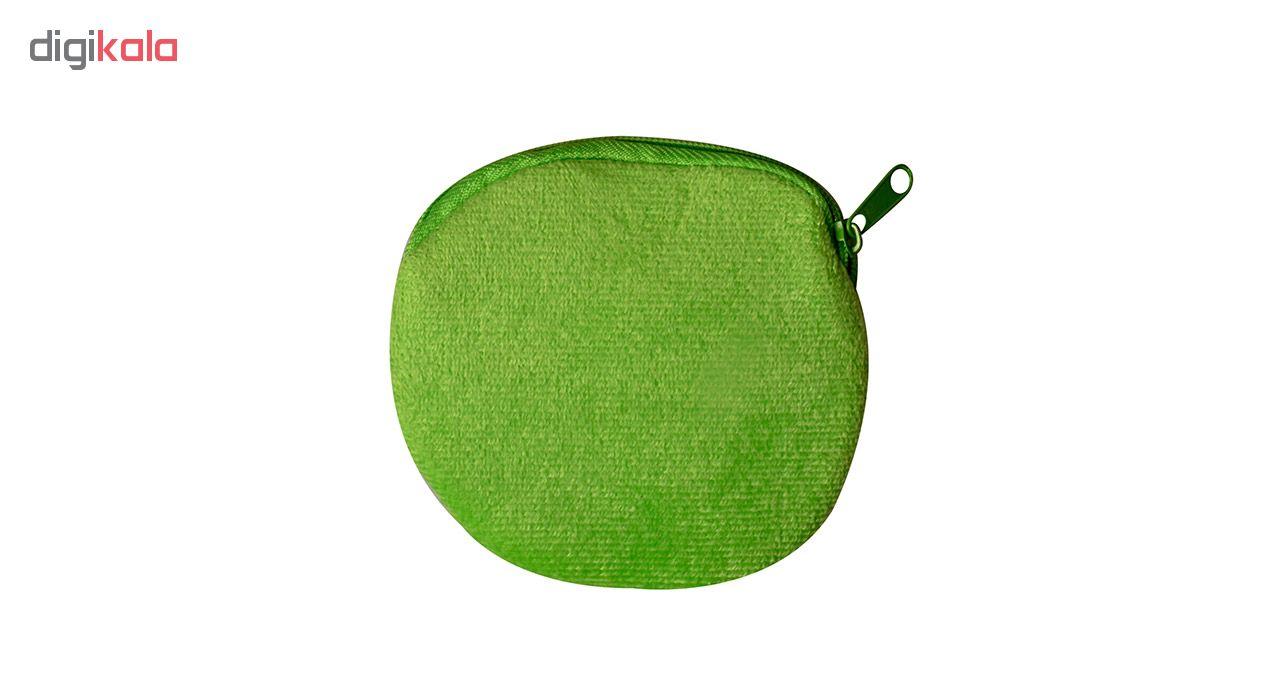 کیف پول دخترانه طرح سیب کد 01