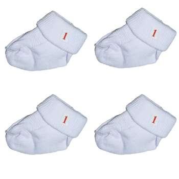 جوراب نوزاد کد sz11 بسته 4 عددی