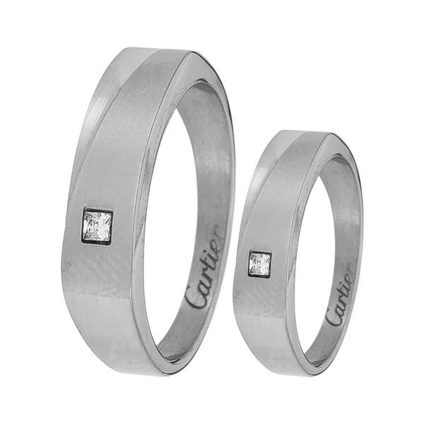 ست انگشتر زنانه و مردانه مون لایت کد R2227