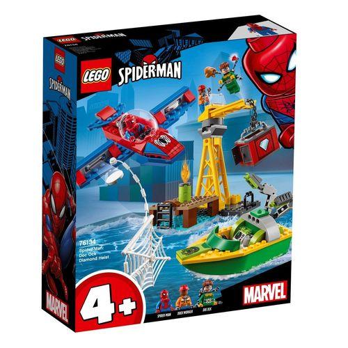 لگو سری Spider Man مدل ِDiamond Heist 76134