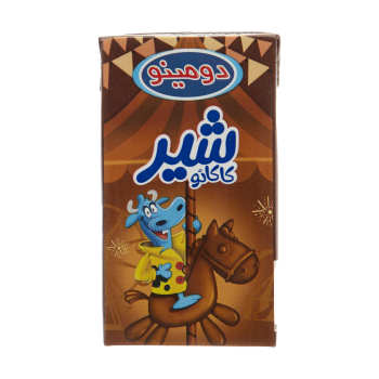 شیر کاکائو دومینو حجم 125 میلی لیتر