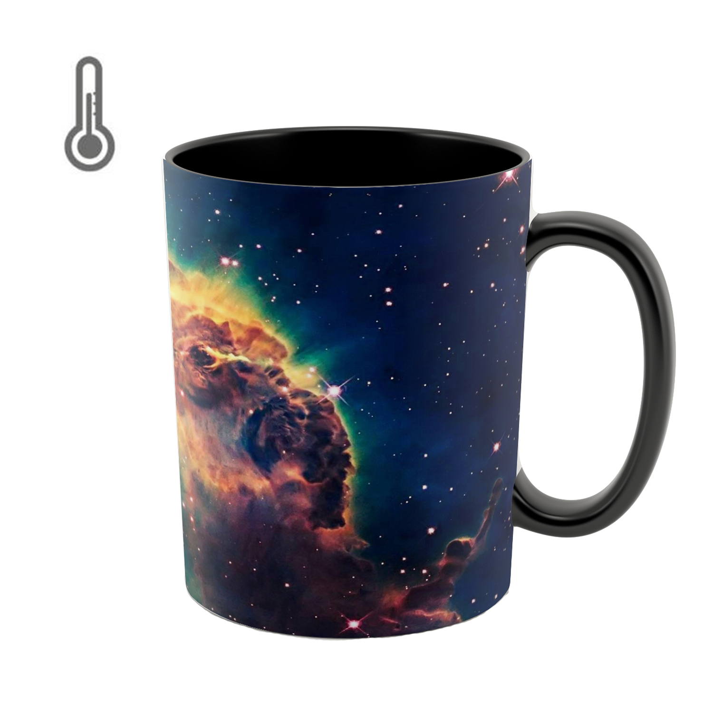 عکس ماگ حرارتی طرح کهکشان کد 06