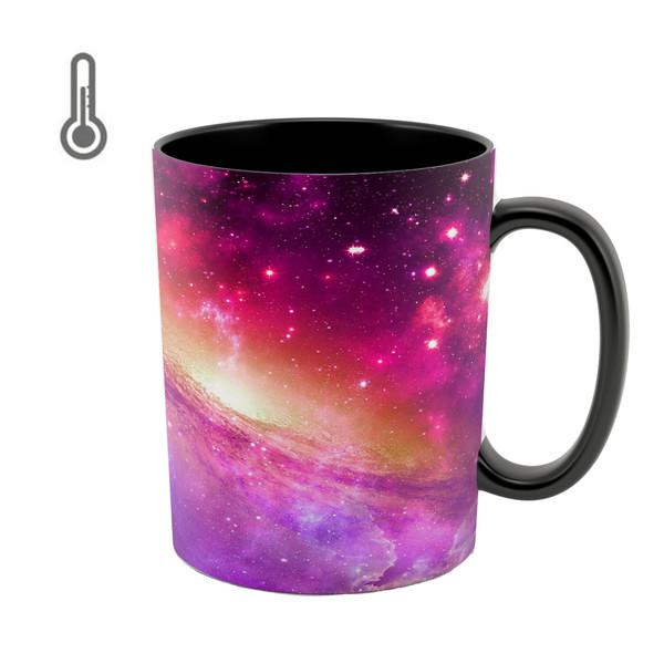 ماگ حرارتی طرح کهکشان کد 08